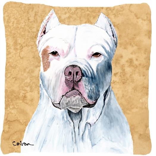 Pit Bull Decorative   Canvas Fabric Pillow by Caroline's Treasures