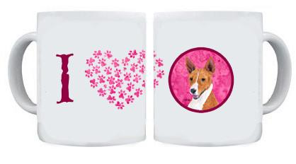 Basenji Dishwasher Safe Microwavable Ceramic Coffee Mug 15 ounce by Caroline's Treasures