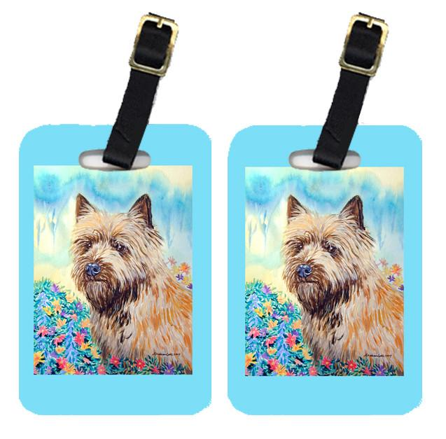 Pair of 2 Cairn Terrier Luggage Tags by Caroline's Treasures