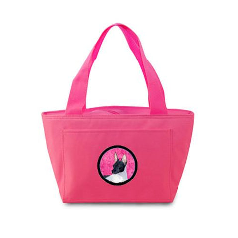 Buy this Pink Rat Terrier  Lunch Bag or Doggie Bag SS4756-PK