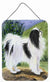 Japanese Chin Aluminium Metal Wall or Door Hanging Prints by Caroline's Treasures