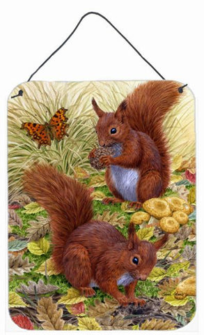Buy this Red Squirrels Wall or Door Hanging Prints ASA2133DS1216