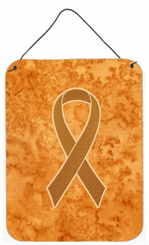 Buy this Orange Ribbon for Leukemia Awareness Wall or Door Hanging Prints AN1204DS1216