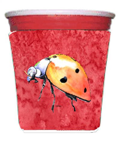 Buy this Lady Bug on Red Red Solo Cup Beverage Insulator Hugger