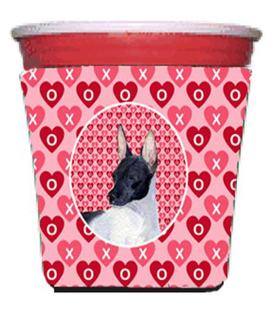 Buy this Rat Terrier  Red Solo Cup Beverage Insulator Hugger