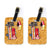 Pair of Hot Dog Luggage Tags by Caroline's Treasures