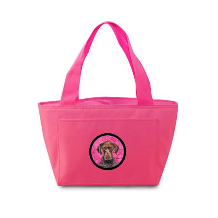 Buy this Pink German Shorthaired Pointer Lunch Bag or Doggie Bag SC9117PK