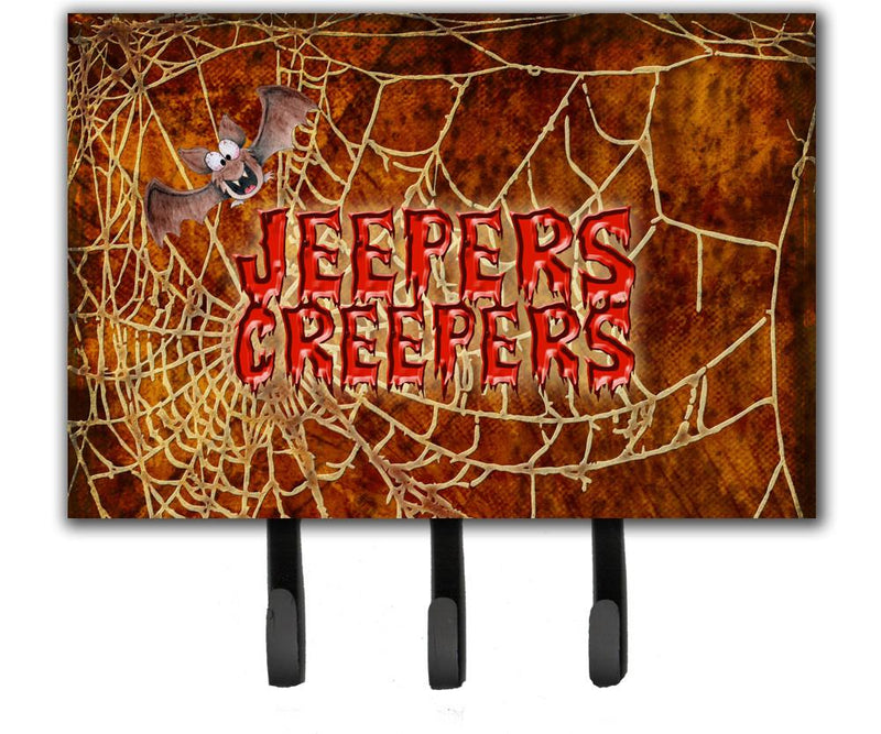 Buy this Jeepers Creepers with Bat and Spider web Halloween Leash or Key Holder