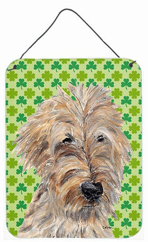 Buy this Goldendoodle St Patrick's Irish Aluminium Metal Wall or Door Hanging Prints