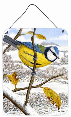 Buy this Eurasian Blue Tits Bird Wall or Door Hanging Prints ASA2051DS1216