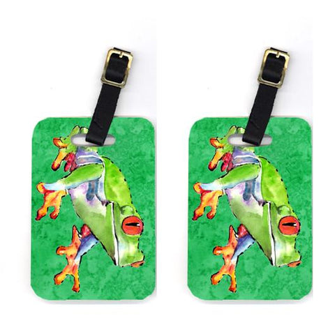 Buy this Pair of Frog Luggage Tags
