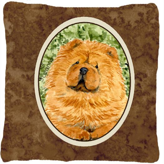Chow Chow Decorative   Canvas Fabric Pillow - the-store.com