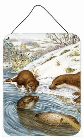 Buy this Otter at Play Wall or Door Hanging Prints ASA2049DS1216