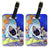Pair of 2 Australian Cattle Dog Sew Perfect Luggage Tags by Caroline's Treasures