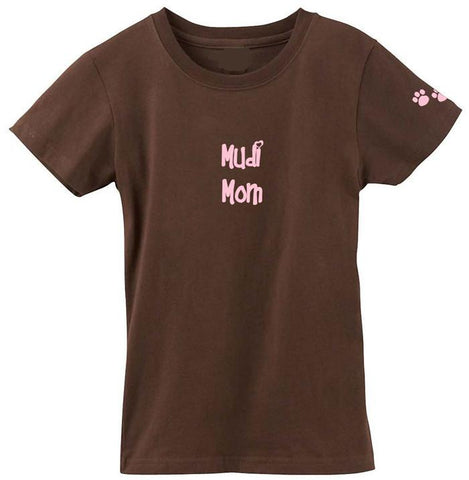 Buy this Mudi Mom Tshirt Ladies Cut Short Sleeve Adult Large