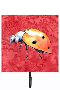Buy this Lady Bug on Red Leash or Key Holder