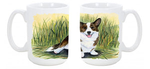 Buy this Corgi Dishwasher Safe Microwavable Ceramic Coffee Mug 15 ounce SS8004CM15