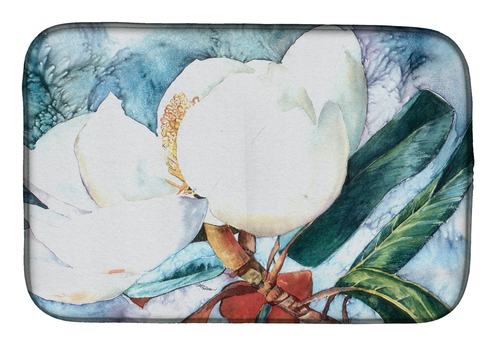 Buy this Flower - Magnolia Dish Drying Mat 8001DDM