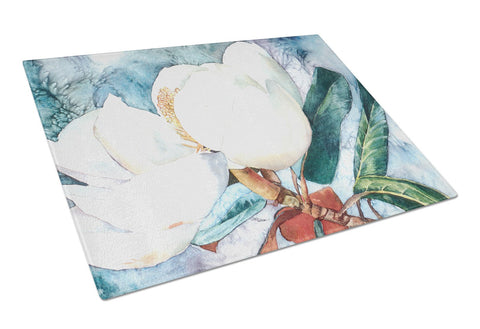 Buy this Flower - Magnolia Glass Cutting Board Large