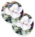Buy this Flower - Magnolia Set of 2 Cup Holder Car Coasters 8002CARC