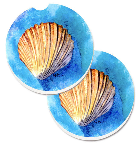 Buy this Shells Set of 2 Cup Holder Car Coasters 8009CARC