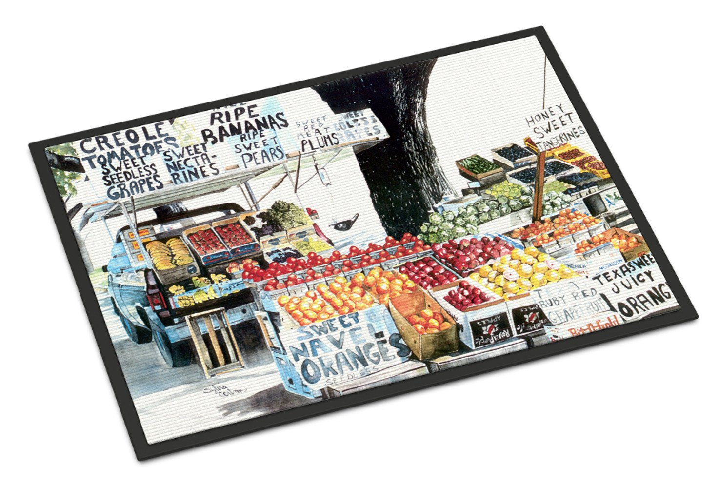 Buy this Fruit Stand  Indoor or Outdoor Mat 24x36 8054 Doormat