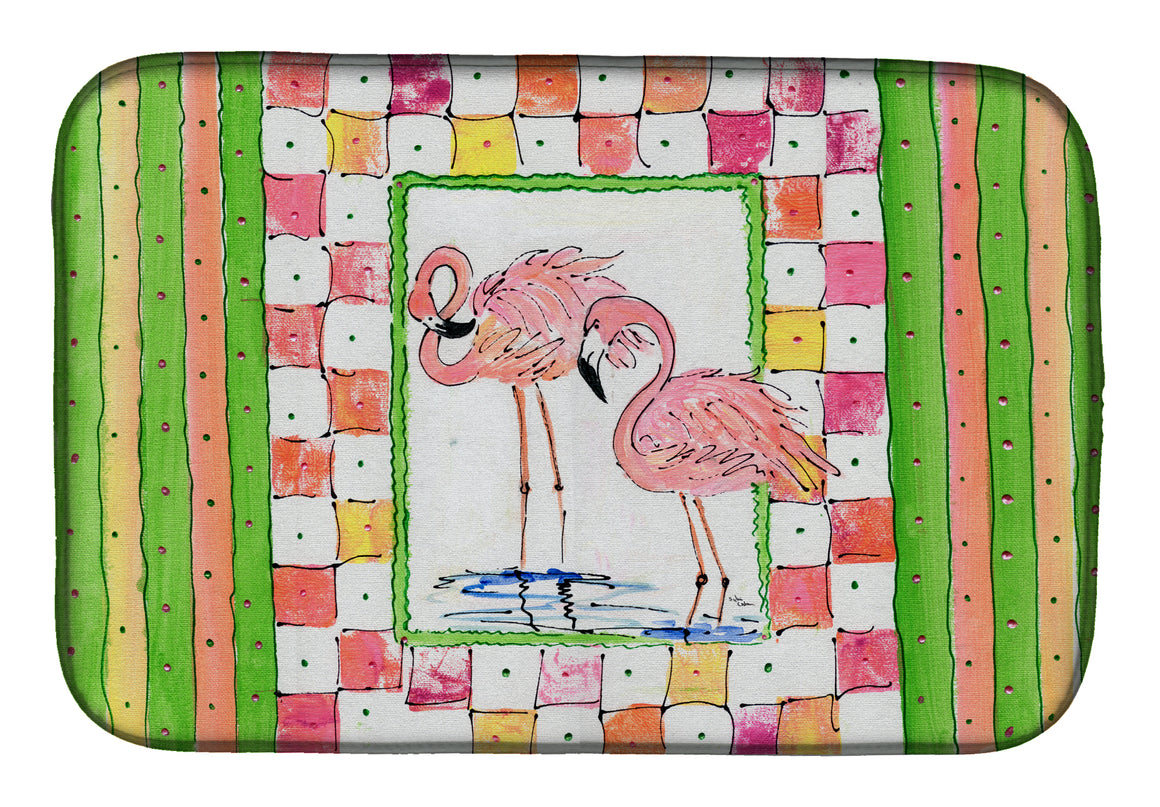 Buy this Bird - Flamingo Dish Drying Mat 8077DDM