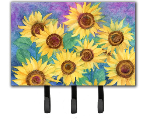 Buy this Sunflowers and Purple Leash or Key Holder IBD0247TH68
