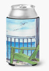 Adirondack Chairs Can or Bottle Beverage Insulator Hugger by Caroline's Treasures