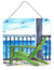 Adirondack Chairs Aluminium Metal Wall or Door Hanging Prints 8085 - the-store.com
