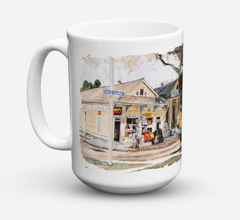 Buy this New Orleans Street Car Dishwasher Safe Microwavable Ceramic Coffee Mug 15 ounce 8108CM15