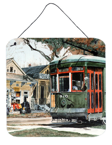 Buy this New Orleans Streetcar Aluminium Metal Wall or Door Hanging Prints