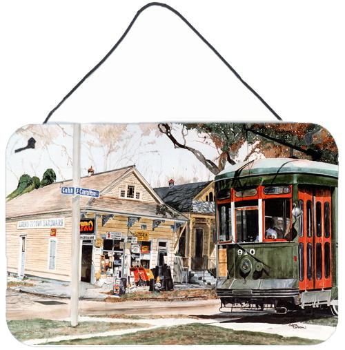 Buy this New Orleans Street Car Aluminium Metal Wall or Door Hanging Prints