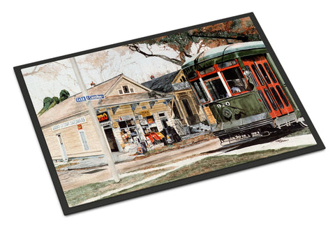 Buy this New Orleans Streetcar Indoor or Outdoor Mat 18x27 Doormat