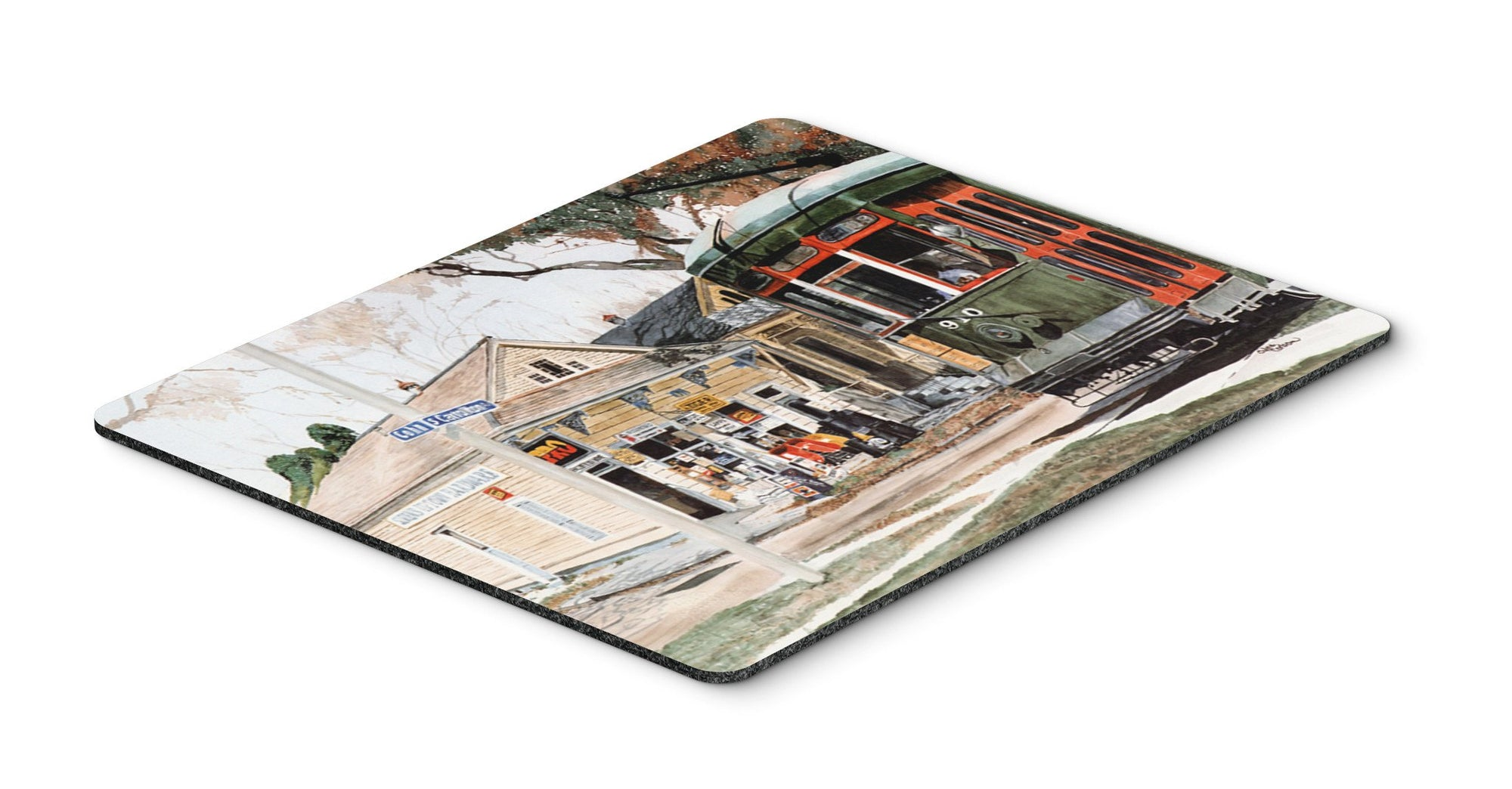 Buy this New Orleans Streetcar Mouse pad, hot pad, or trivet