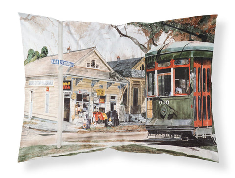 Buy this New Orleans Streetcar Moisture wicking Fabric standard pillowcase