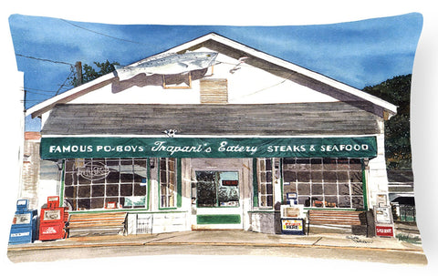 Buy this Trapani's Eatery Decorative   Canvas Fabric Pillow