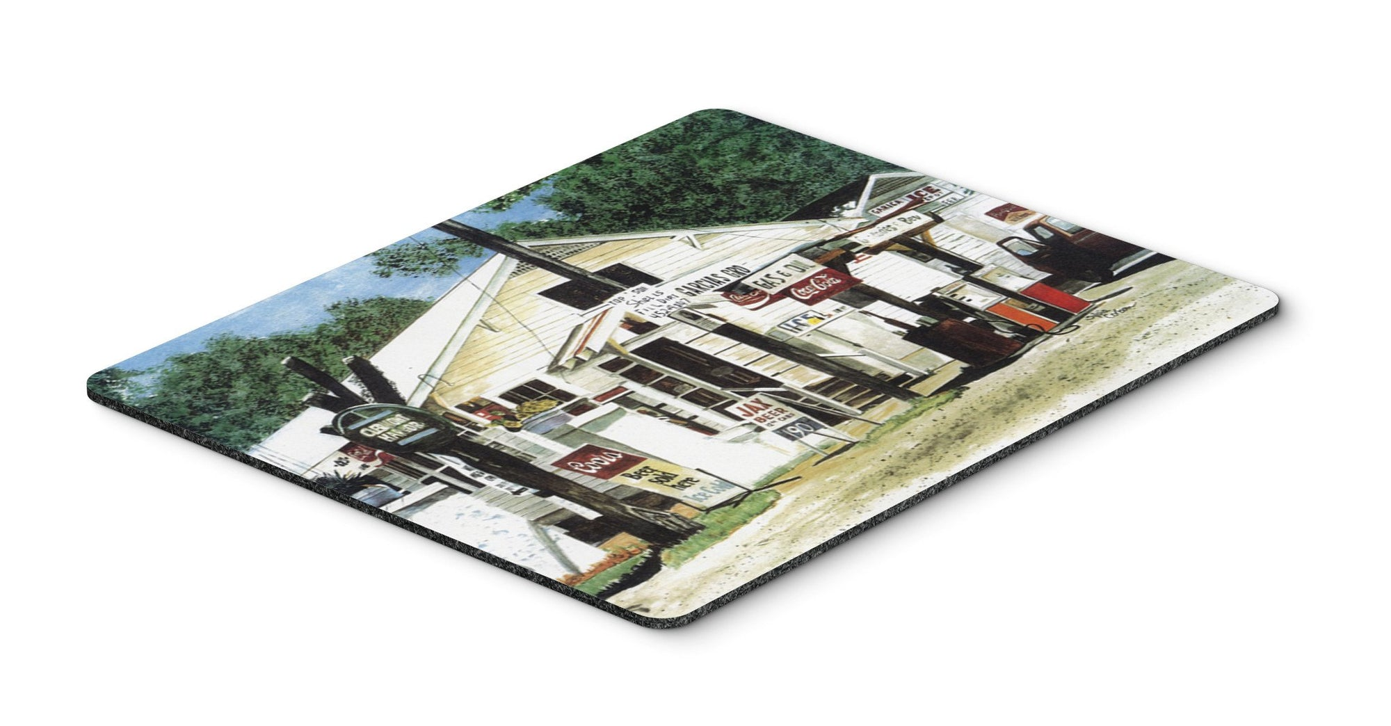 Garcia's Grocery Mouse pad, hot pad, or trivet by Caroline's Treasures