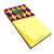 Mardi Gras Fleur de lis Purple Green and Gold Refiillable Sticky Note Holder or Postit Note Dispenser 8133SN by Caroline's Treasures