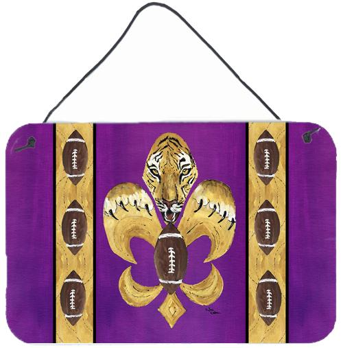 Buy this Tiger Football Fleur de lis  Indoor or Wall or Door Hanging Prints