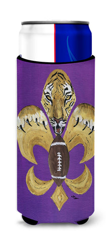 Buy this Tiger Football Fleur de lis Ultra Beverage Insulators for slim cans 8205MUK