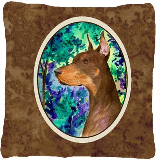 Buy this Doberman Decorative   Canvas Fabric Pillow