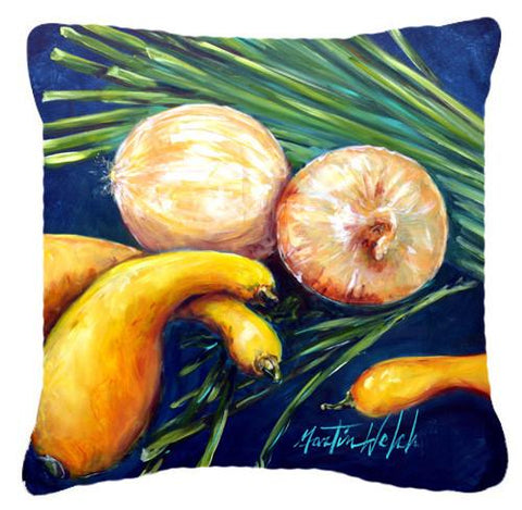 Buy this Crooked Neck Squash Canvas Fabric Decorative Pillow MW1206PW1414