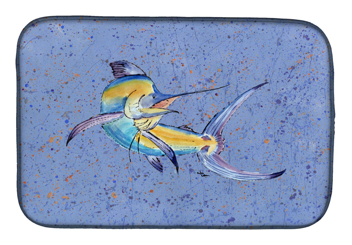 Buy this Blue Marlin Dish Drying Mat 8350DDM