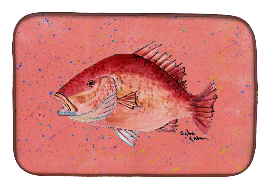 Buy this Strawberry Snapper Dish Drying Mat 8351DDM