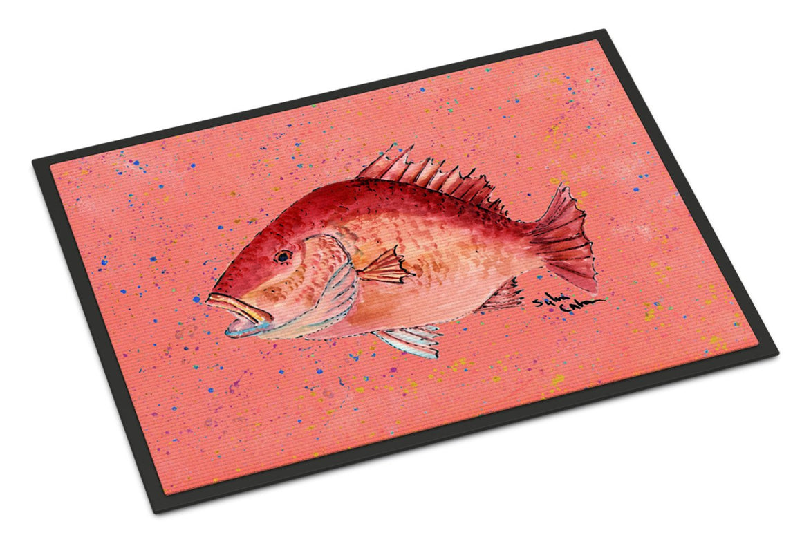 Buy this Strawberry Snapper Indoor or Outdoor Mat 24x36
