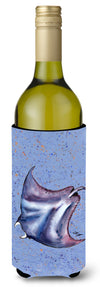 Stingray Stingray Wine Bottle Beverage Insulator Beverage Insulator Hugger by Caroline's Treasures