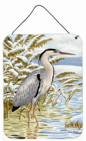 Buy this Blue Heron in the water Wall or Door Hanging Prints ASA2058DS1216