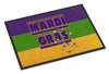 Mardi Gras Indoor or Outdoor Mat 18x27 Doormat - the-store.com