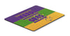 Mardi Gras Mouse Pad, Hot Pad or Trivet by Caroline's Treasures
